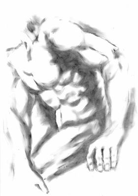 MALE FIGURE by Nicolas GOIA