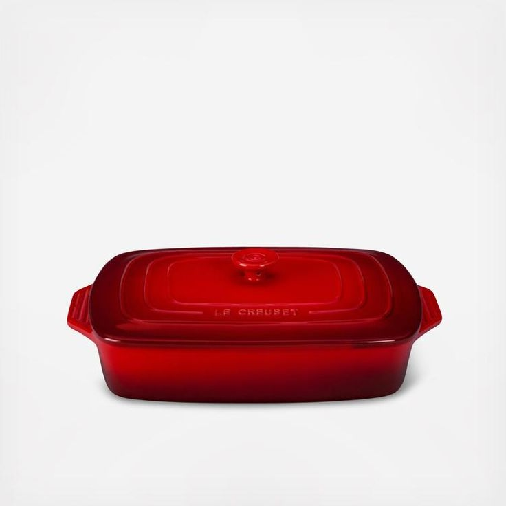 Covered Rectangular Casserole Dish | Zola