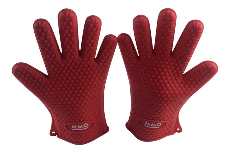 Silicone BBQ Gloves/Mitts Extreme Heat Resistance, Use For All Cooking, Frying, Smoking, Indoors and Outdoors, Oven Baking, With Great Grip, Waterproof, Best Seller.