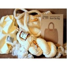 Pure British Romney Knit Chic Bag Made by Romney Marsh Wools in #Kent - £29.95