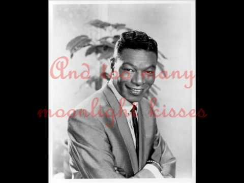 From 1957 and the irrepressible Nat 'King' Cole - 'When I Fall In Love'  - who remembers watching the Nat 'King' Cole Show on TV? His phrasing was like no one else!