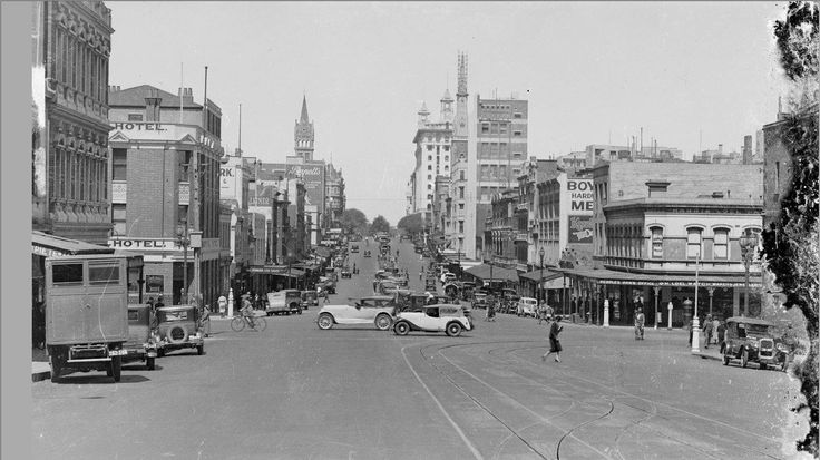Memory Lane Monday: Incredibly, there was once a time when there was no Stalactites Restaurant on Lonsdale Street. This is how it looked. Credit: 1938, intersection of Lonsdale and Russell Streets. To be used by the Greek Community, for research purposes, no specific copyright. To be noted: from the Rose Series. Source: State Library of Victoria