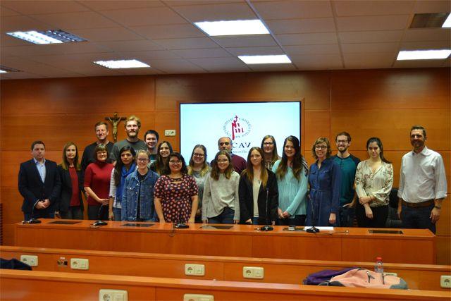 La Universidad Católica De ávila Clausura El Tercer Programa De Colaboración Con Alumnos De La Lubbock Christian University De Texas Universidad Catolica Catolico Alumno