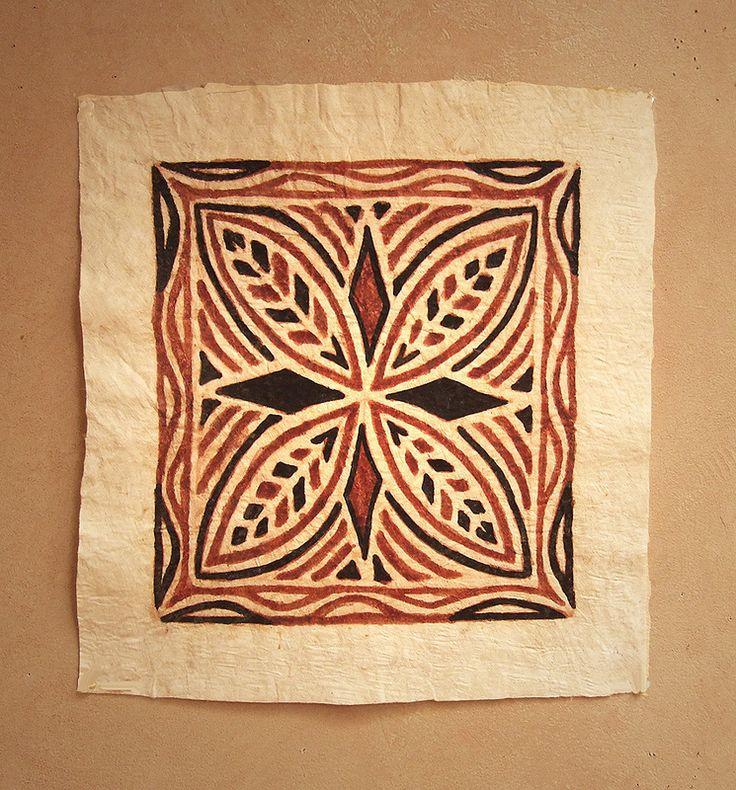 Samoan tapa cloth Tapa Cloth Pinterest