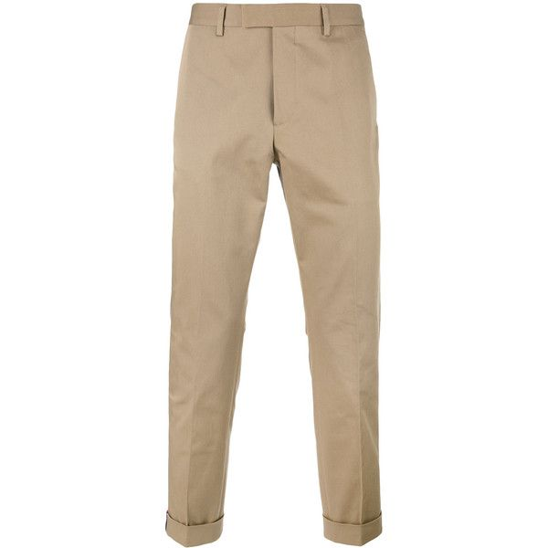 Gucci slim-fit chinos (37.270 RUB) ❤ liked on Polyvore featuring men's fashion, men's clothing, men's pants, men's casual pants, nude, mens zip off pants, mens striped pants, mens slim fit chino pants, gucci mens pants and mens slim fit pants