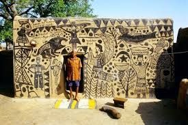 Image result for kassena west africa art