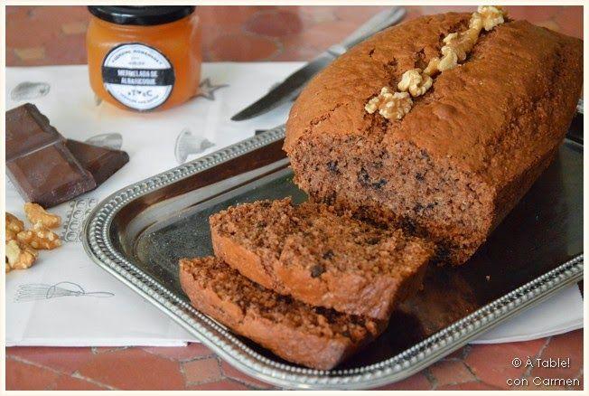 Pan de Avena, Chocolate y Nueces