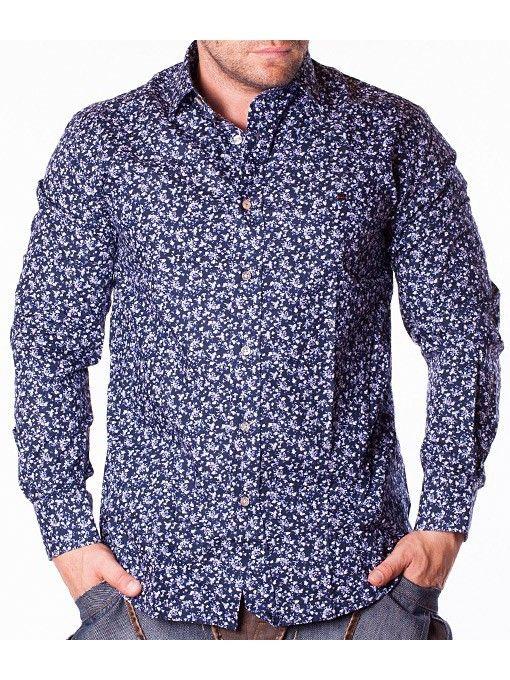 Camasi barbati Tony Cooper albastru-inchis