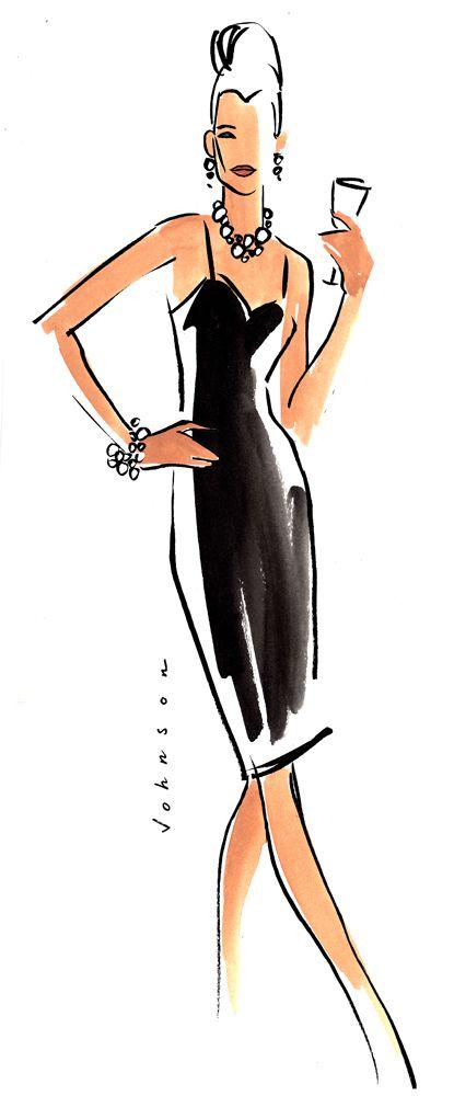 "Julie Johnson ""The Little Black Dress"""