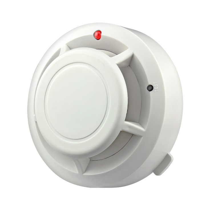 1pcs Free Shipping 433MHZ Wireless Smoke Sensor Detector Burglar Alarm System for Home Security Alarm Accessories