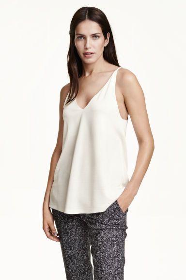 V-neck top | H&M
