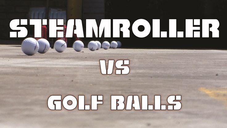 ❝ Esto es lo que le pasa a pelota de golf si le pasa por encima una Apisonadora [VÍDEO] ❞ ↪ Puedes leerlo en: www.divulgaciondmax.com
