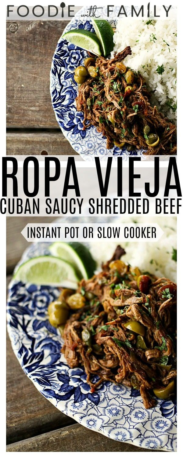Ropa Vieja Thin Shreds Of Flank Steak Braised In A Rich Tomato Vegetable Sauce With Olives Caper Beef Steak Recipes Flank Steak Crock Pot Flank Steak Recipes