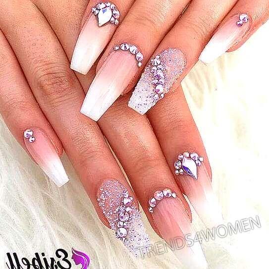 Nail art | Diamond nail designs, Nail tip designs, Dot