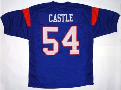 Blue-Mountain-State-Football-Jersey-Kevin-Thad-Castle-54-Blue-White-Sewn-New