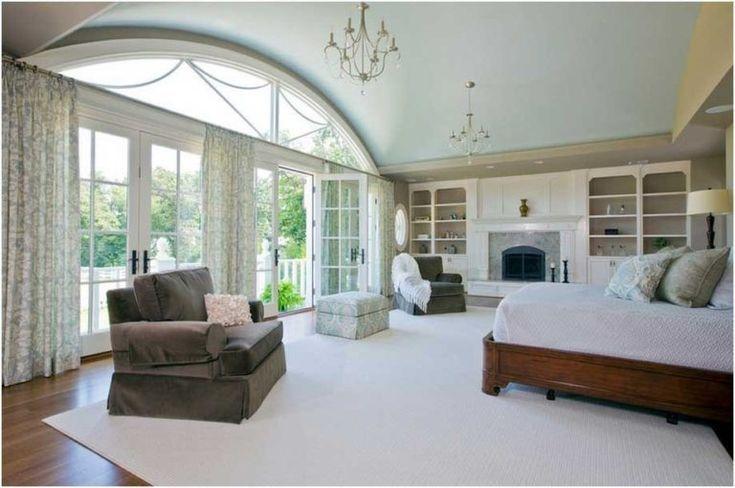 Landhausstil Schlafzimmer Ideen Fensterpfosten Design