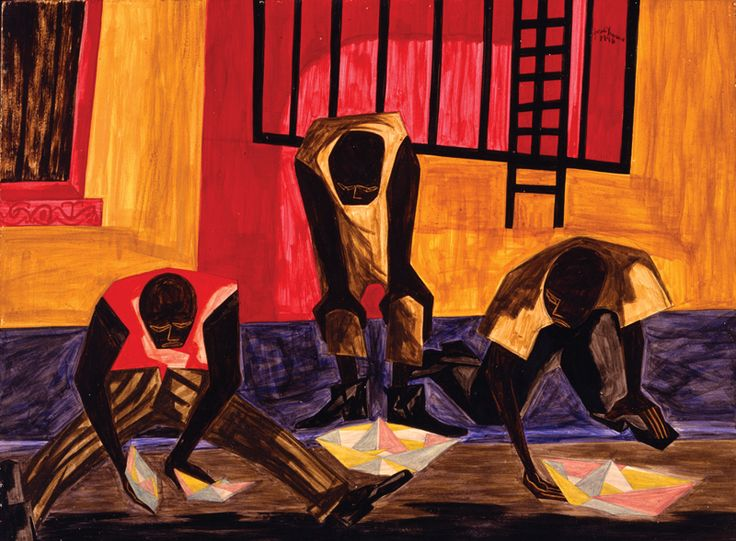 Tribute To Jacob Lawrence Greeting Card for Sale by Otis L Stanley ...