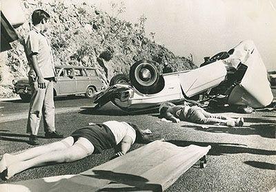 Enrique Metinides- Fotografia de accidentes comúnmente de notas Rojas.