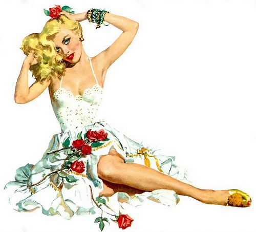 Oh but I love vintage 50s dresses. I must get some patterns for this