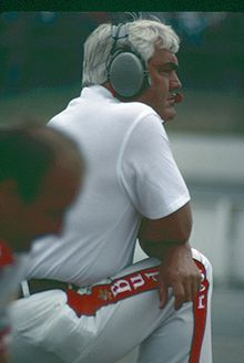 Junior Johnson, seen here in 1985, was a popular NASCAR driver from the 1950s who began as a bootlegging driver from Wilkes County, North Carolina.