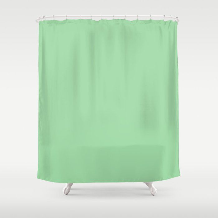 Bright Mint Green Solid Color Pairs With Coloro Neo Mint 065 80