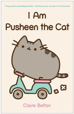 """""""I Am Pusheen The Cat"""" paperback comic book by Claire Belton, $15 Retail Price ($13.50 Sale Price) via Amazon.Com ... (PRICE NOTE: Remember to compare prices on all Pusheen merchandise between HeyChickadee.Com and Amazon.Com before buying to find the lowest one!)"""