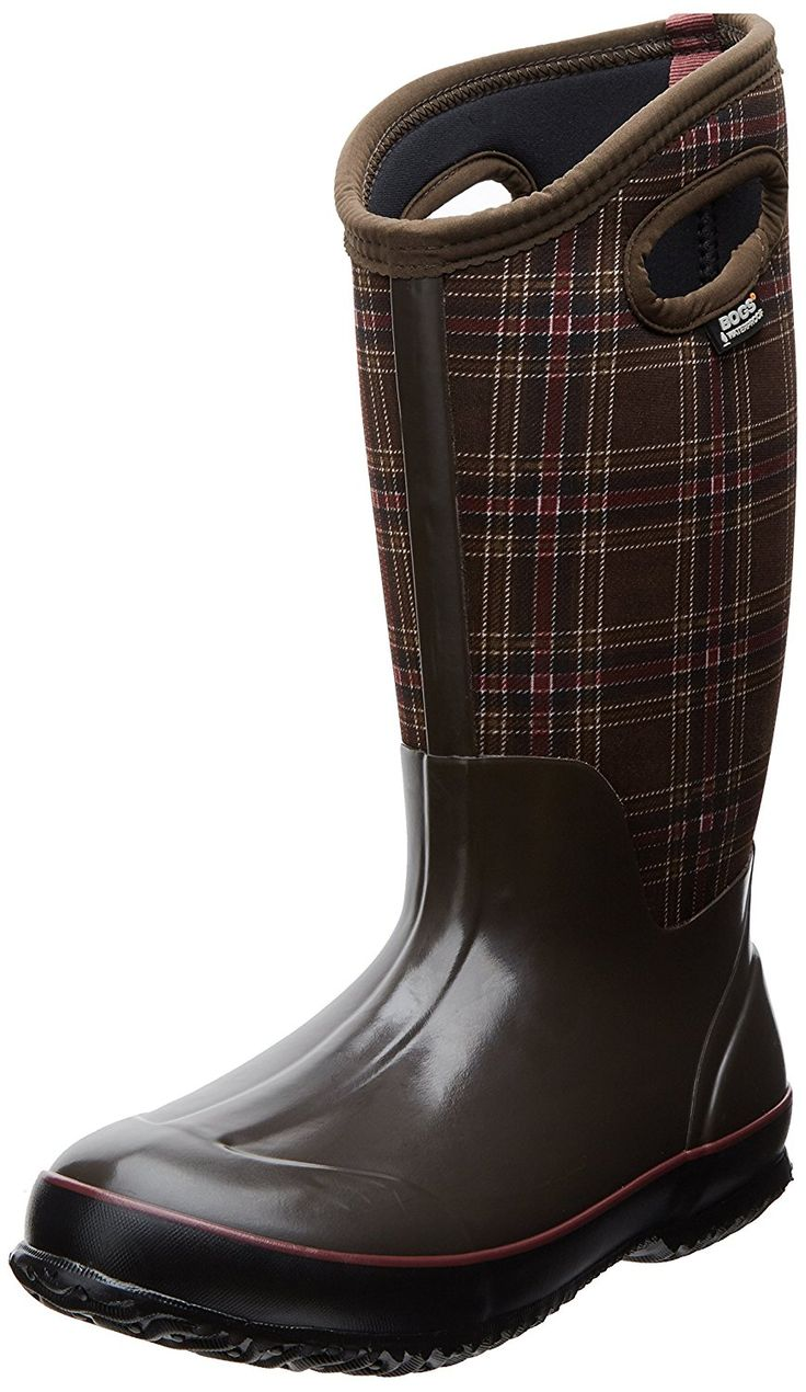Bogs Women's Classic Winter Plaid Tall Winter Snow Boot => See this great image  : Boots