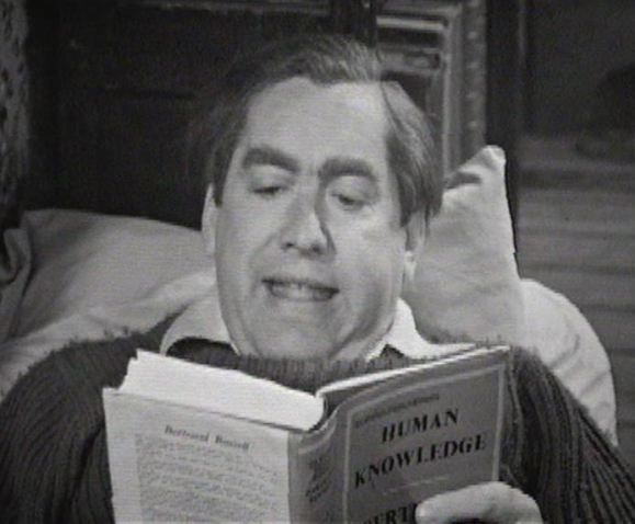 Tony Hancock in The Bedsitter, the first episode in the 7th series of Hancock's Half Hour. BBC TV, 1961