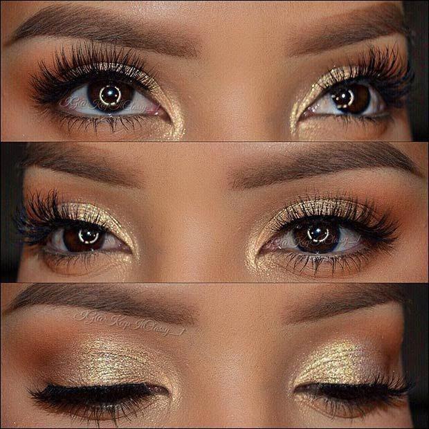 Dramatic Eye Makeup For Hooded Eyes Make…