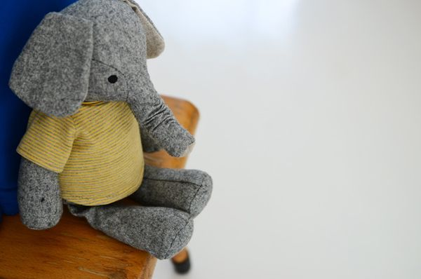 I love this elephant doll!