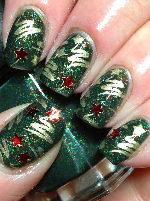 Canadian Nail Fanatic: christmas #nail #nails #nailart