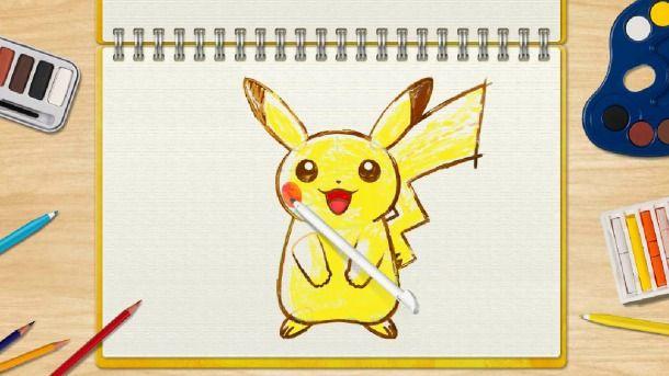 Pokémon Art Academy To be Released In North America via popgeeks.net