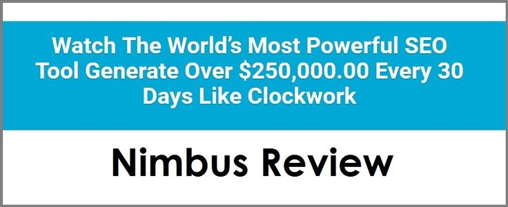 Nimbus review to help you understand how to outrank other websites during 2016 and beyond. Is this the best SEO tool to date?