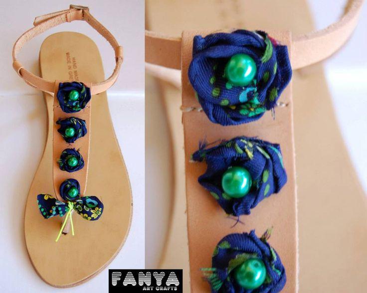 "handmade sandals ""minies"""