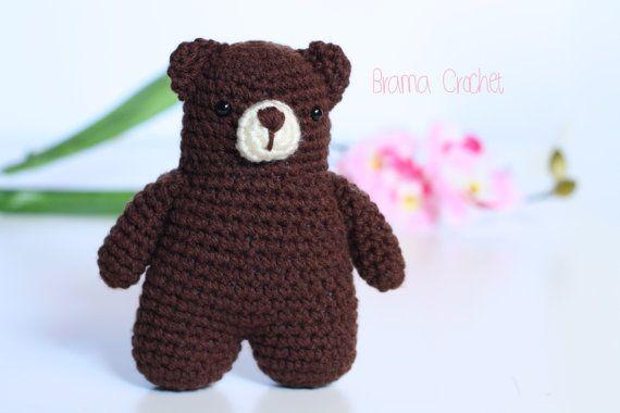 Teddy BEAR Kawaii Amigurumi doll SELECT COLOR Handmade