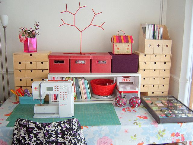 71 Best Sewing Room Ideas Images On Pinterest | Sewing Rooms, Live And DIY