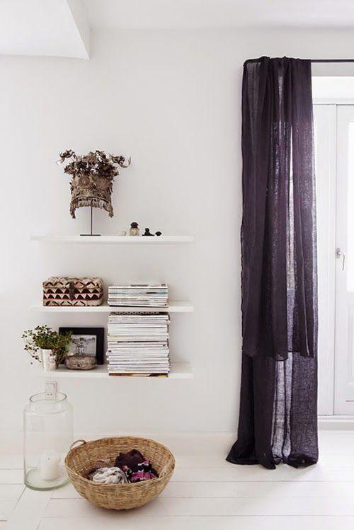 Duvet day in this calm danish bedroom of Tine K? Stylist: Tone Kroken, photographer: Yvonne Wilhelmsen