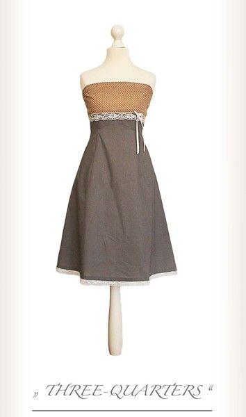 Lilou - Kleid mit Punkten von three-quarters auf DaWanda.com