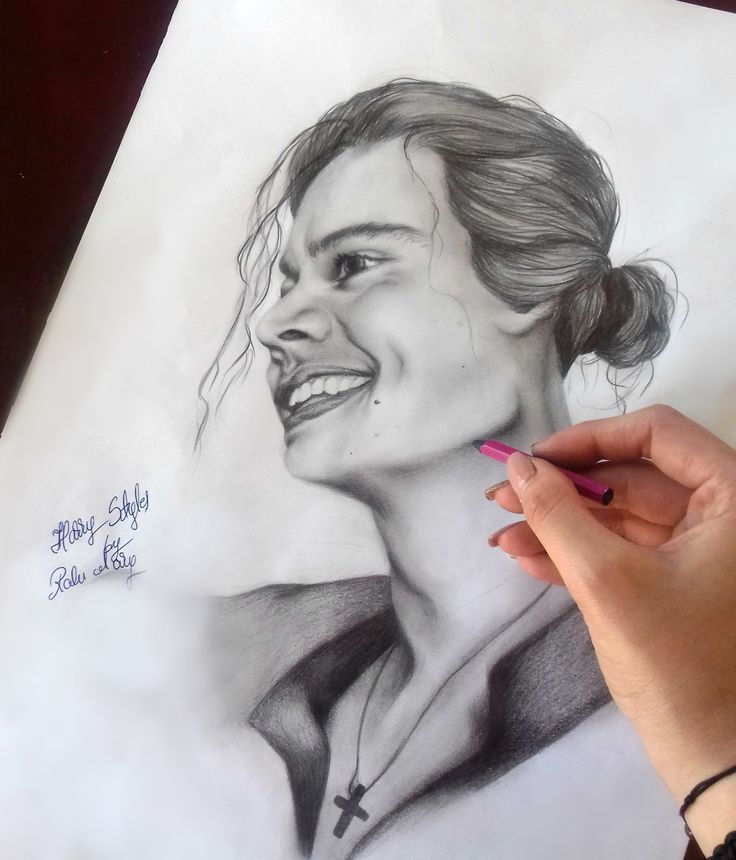 My drawing of Harry Styles    Ralu Mary