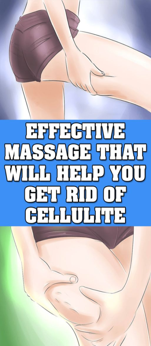 Using Massage Therapy to Reduce Cellulite !!