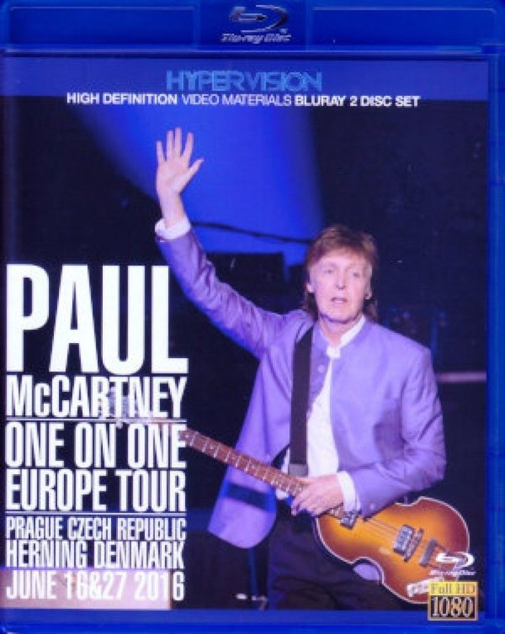 Paul McCartney / Europe Tour 2016 Blu-Ray Version 2 Disc from japan