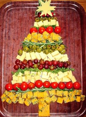 Foodie Quine: Foodie Quine 2013 Advent Calendar, Christmas Tree Cheese for 2013