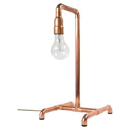 1000 id es sur le th me lampes de cuivre sur pinterest lampe en tuyau table de cuivre et cuivre. Black Bedroom Furniture Sets. Home Design Ideas