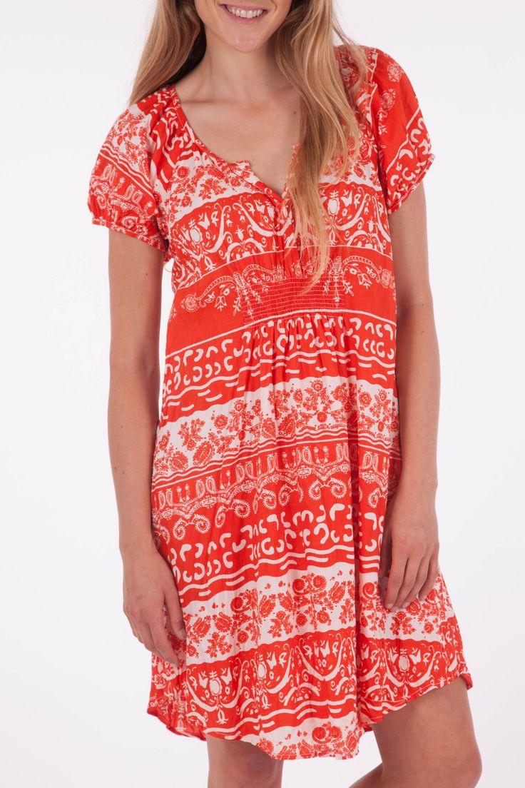 Naudic Allora Brocade Print Dress - Womens Knee Length Dresses - Birdsnest Australia