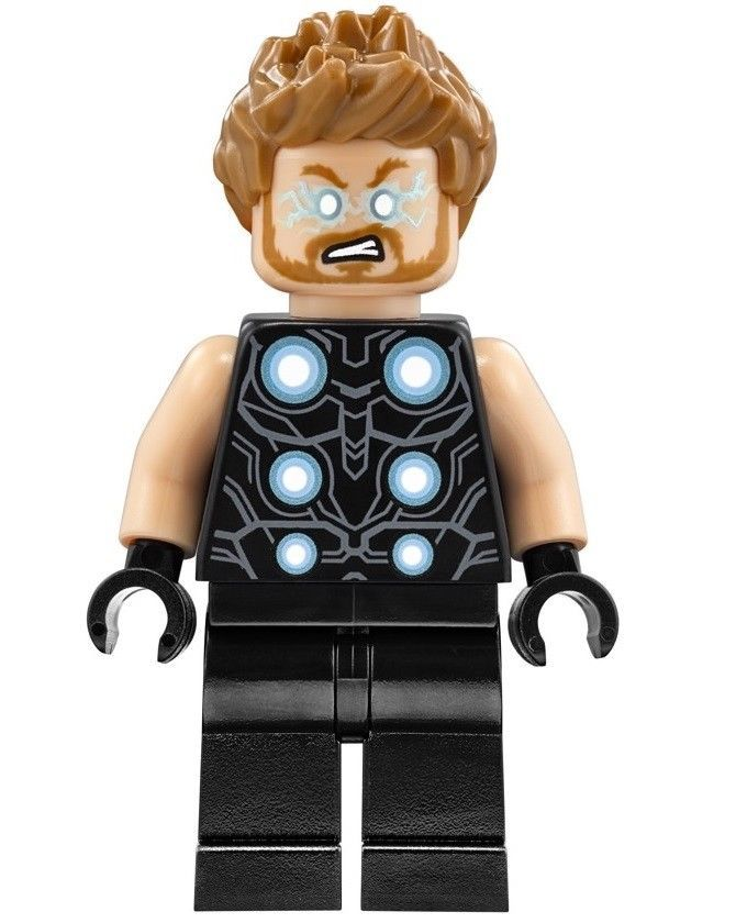 NEW LEGO THOR MINIFIG 76102 infinity war avengers marvel figure minifigure hero
