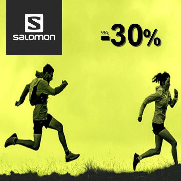 Make any terrain your playground! 😋 H νέα συλλογή #Salomon σε καλεί να την ανακαλύψεις με έκπτωση ως -30% μέχρι και σήμερα!