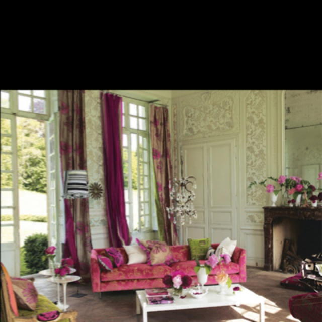91 besten Coming up Pink Rooms Bilder auf Pinterest Rund ums - wohnzimmer ideen pink