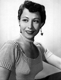 June Foray in 1952.  She was the voice of Rocky the Flying Squirrel.  And the voice of Cindy Lou Who.  And the voice of Chatty Cathy. Etc. Etc.
