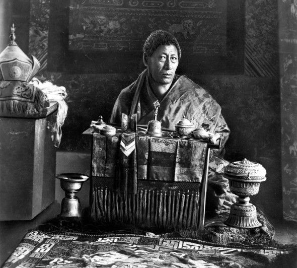 Last Deb Raja of Bhutan