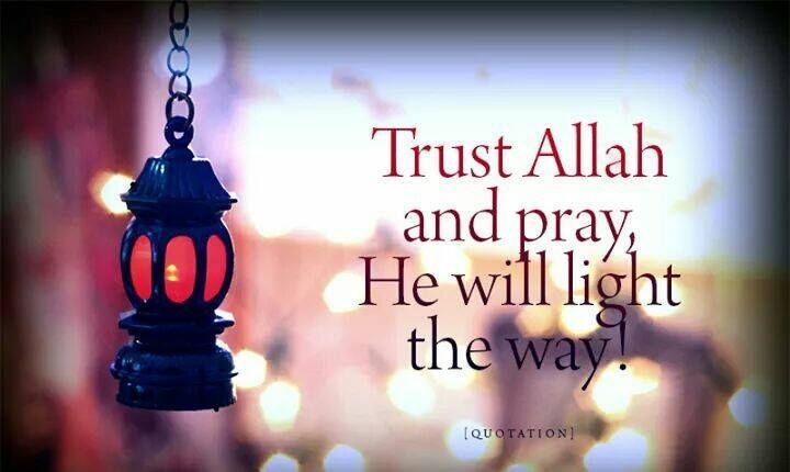 He will light the way